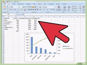 Ein Paretodiagramm in MS Excel 2010 erstellen – wikiHow
