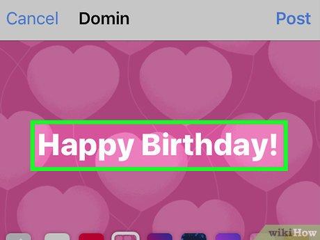 Auf Facebook Jemandem Zum Geburtstag Gratulieren Wikihow