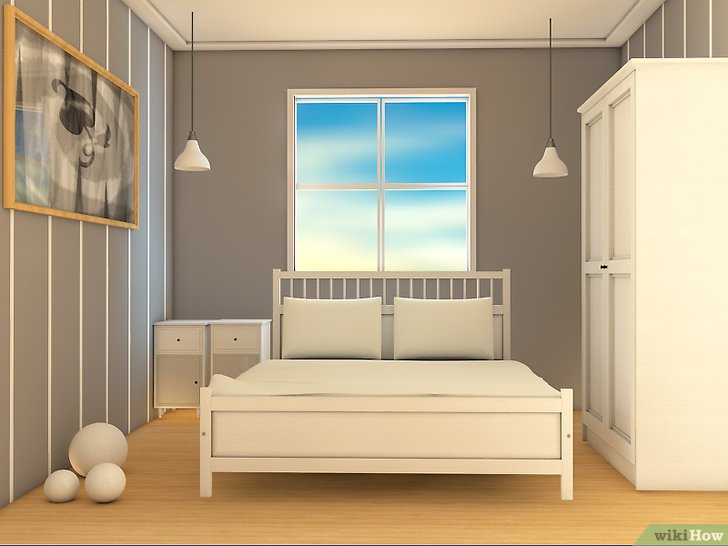 image intitulee affordably decorate a small bedroom step 1