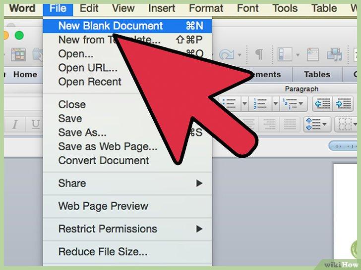 Cara Membuat Undangan Di Microsoft Word Wikihow