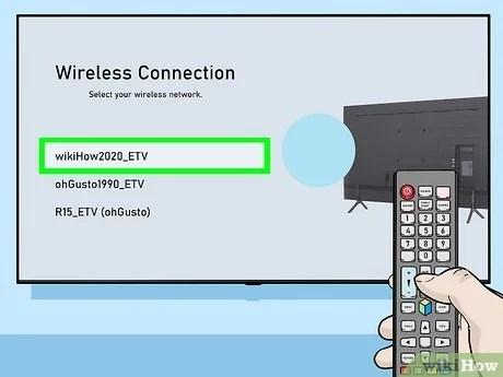 come connettere una tv samsung al wi fi
