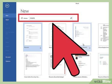 4 Manieres De Creer Un Curriculum Vitae Sur Microsoft Word