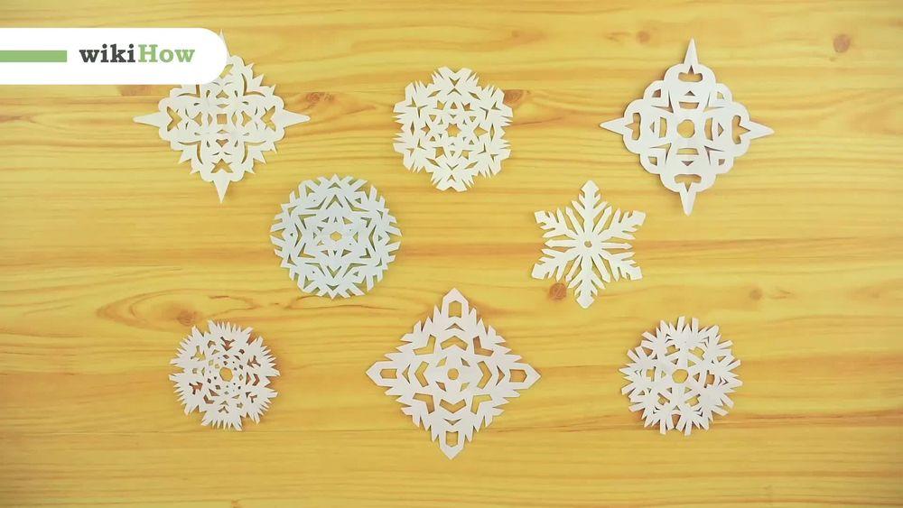 Creare Un Fiocco Di Neve Con La Carta