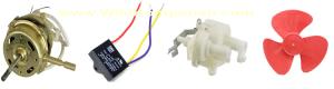 Komponen Kipas Angin Dan Kerusakan Bagian Utamanya - Spare parts terdiri dari motor, kapasitor, baling-baling, gril kipas, gear box serta berbagai perlengkapan yang diraki
