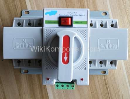 Foto salah satu jenis ATS ( Automatic Transfer Switch )
