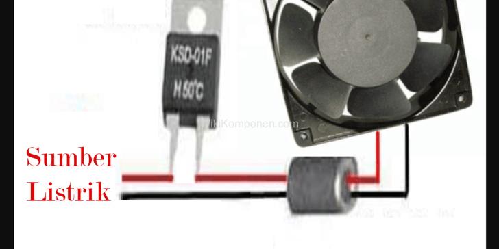Rangkaian Cara Pemasangan Thermostat KSD-01F