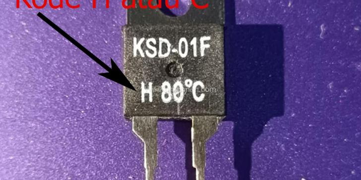 Kode Normally Open NO Normally Close NC Thermostat KSD01