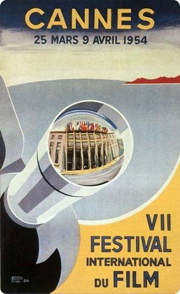 affiche festival de cannes 1954 Toutes les affiches du festival de Cannes de 1946 à 2013