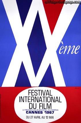 affiche festival de cannes 1967 Toutes les affiches du festival de Cannes de 1946 à 2013
