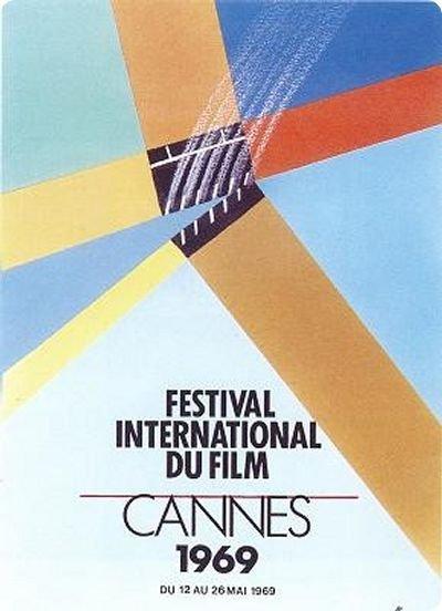 affiche festival de cannes 1969 Toutes les affiches du festival de Cannes de 1946 à 2013