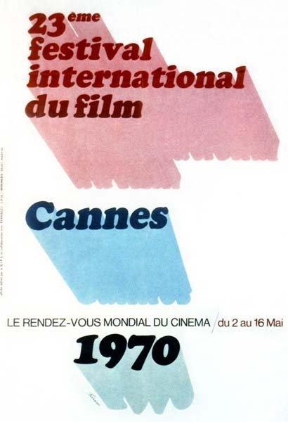 affiche festival de cannes 1970 Toutes les affiches du festival de Cannes de 1946 à 2013