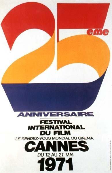 affiche festival de cannes 1971 Toutes les affiches du festival de Cannes de 1946 à 2013
