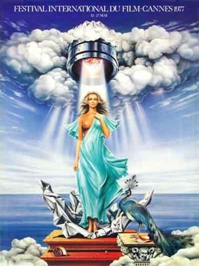 affiche festival de cannes 1977 Toutes les affiches du festival de Cannes de 1946 à 2013