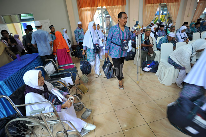 Dua Jamaah Haji Asal Medan Dilarikan ke Rumah Sakit