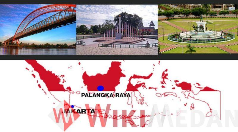 Ibu Kota di Palangkaraya