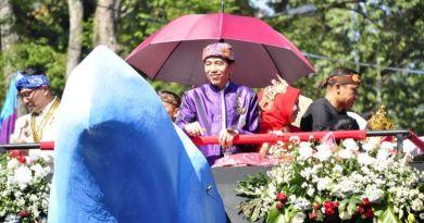 Makna Kereta Pancasila yang Dinaiki Jokowi Saat Karnaval Kemerdekaan