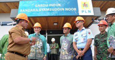 Dukung PSN Pengembangan Bandara Syamsudin Noor