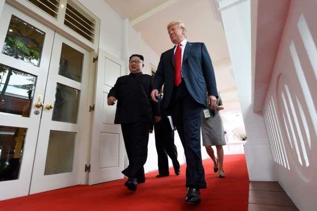 Trump - Kim