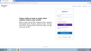 Yahoo- one of the most popular Web portal and search engine