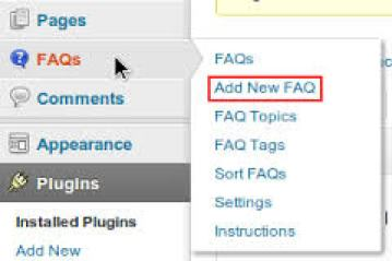 How to Create FAQ