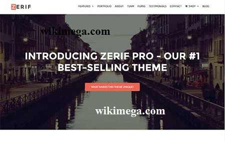 zerif pro single page wordpress theme, zerif pro download free, zerif pro one page theme