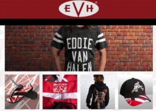 Eddie Van Halen abre loja online de merchandising e acessórios para guitarra