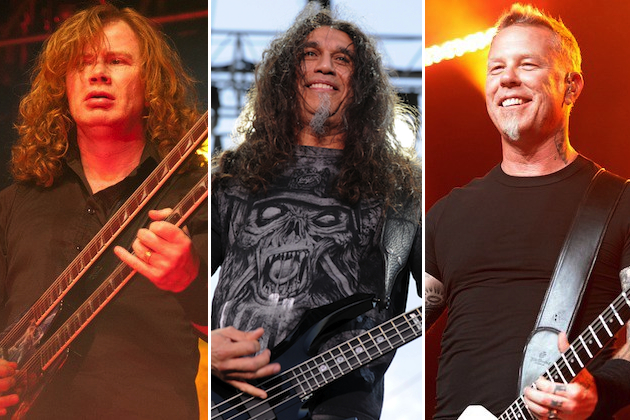 As 10 melhores bandas de Thrash Metal