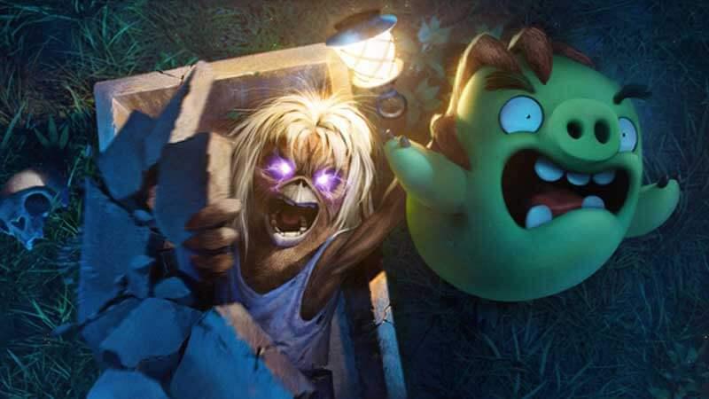 Iron Maiden: Mascote Eddie é novo personagem do jogo Angry Bird
