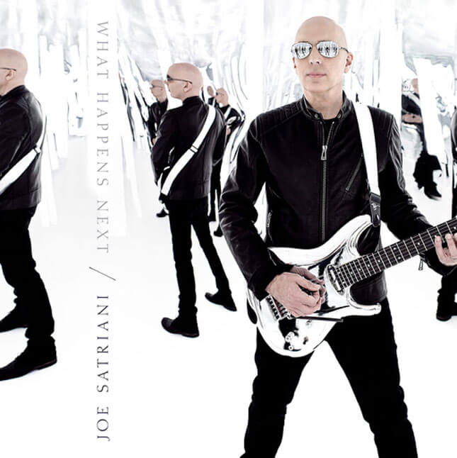 Joe Satriani, álbum What Happens Next