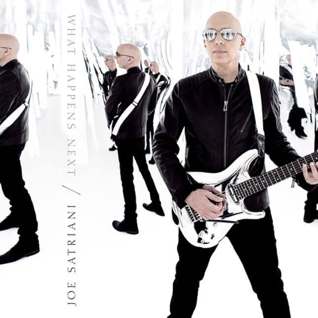 Joe Satriani, álbum What Happens Next