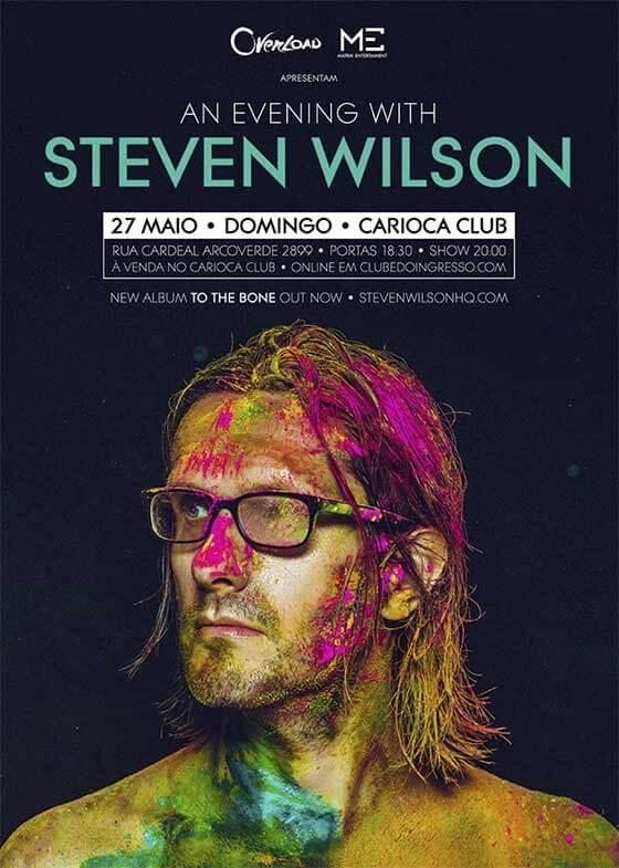 Steven Wilson no Brasil