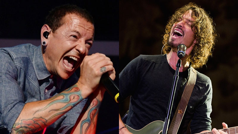 Chester Bennington e Chris Cornell