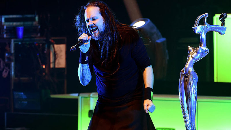 Jonathan Davis do Korn