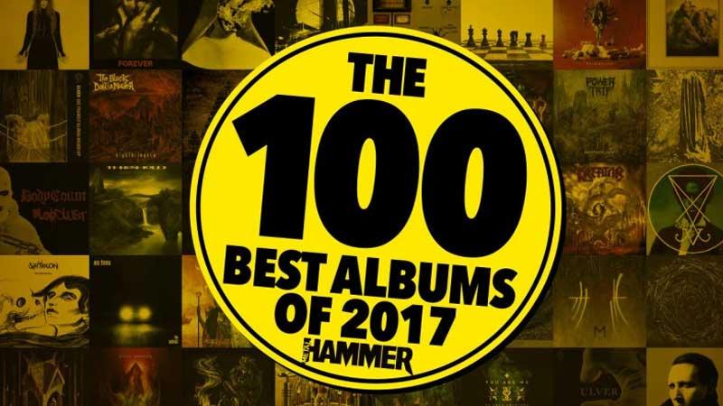 Os 100 melhores álbuns de 2017 segundo a Metal Hammer
