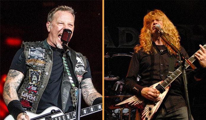 Dave Mustaine e Metallica