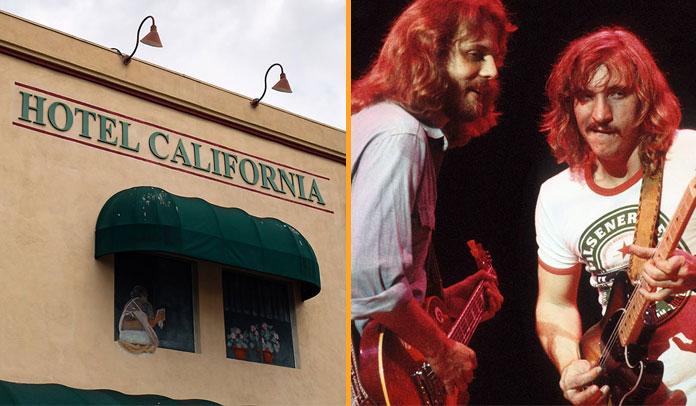 Eagles entra em acordo sobre processo de 'Hotel California'