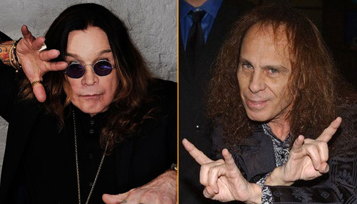 Ozzy Osbourne e Ronnie James Dio