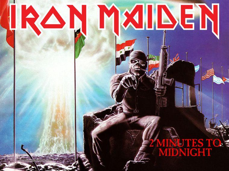 """Relógio para o fim do mundo marca agora """"2 Minutes To Midnight"""" como Iron Maiden previu em 1984"""