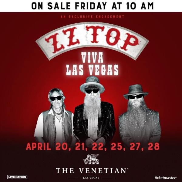 ZZ Top Las Vegas