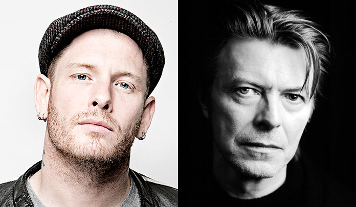 Corey Taylor e David Bowie