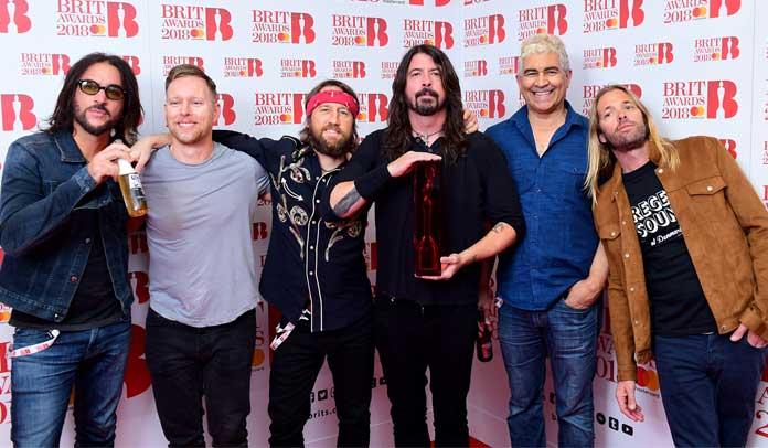 Foo Fighters no Brit Awards 2018