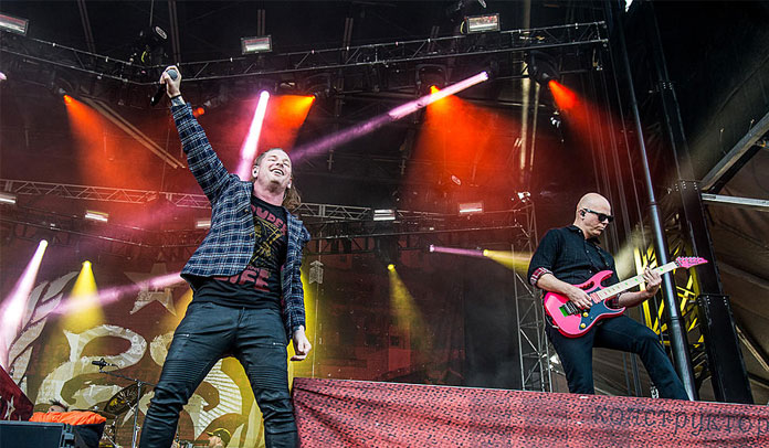 Josh Rand e Corey Taylor do Stone Sour