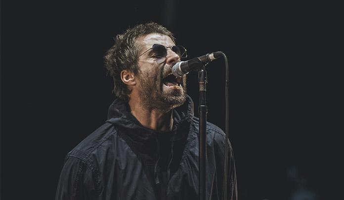 Liam Gallagher no Lollapalooza 2018