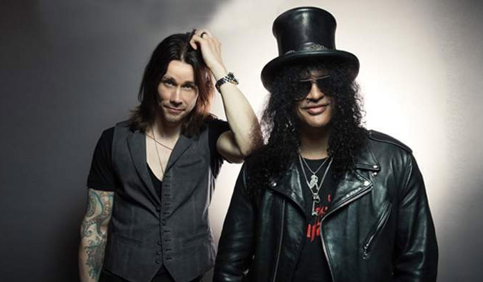 Slash e Myles Kennedy