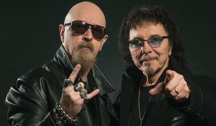 Tony Iommi e Rob Halford