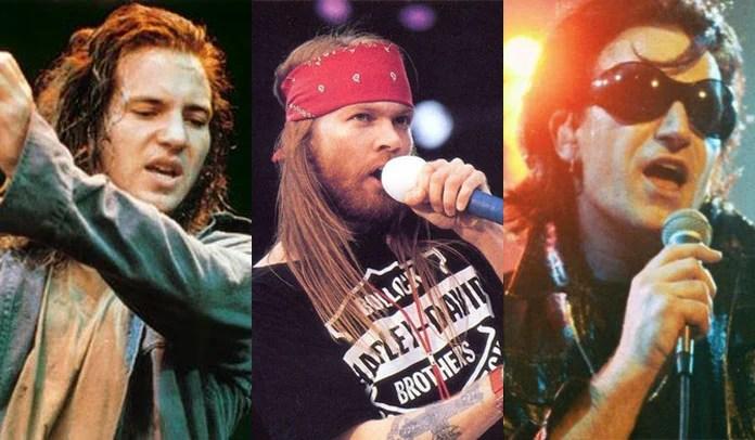 Pearl Jam recusou uma turnê com Guns N' Roses e U2 em 1993