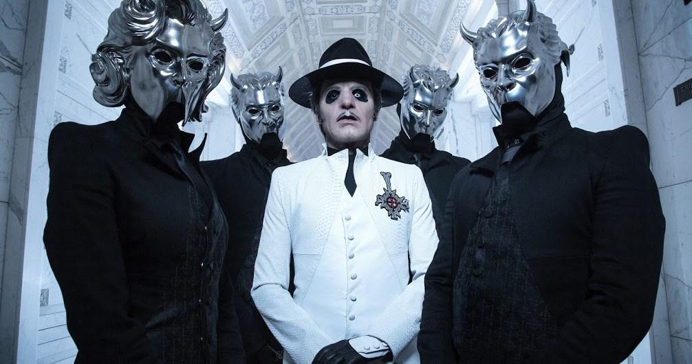 """Ghost lança música nova """"Dance Macabre"""""""