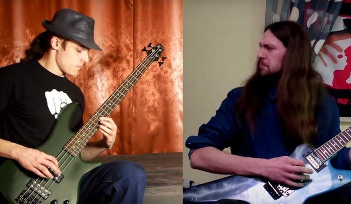 Músicos regravam clássicos do Metallica com riffs de baixo e guitarra trocados