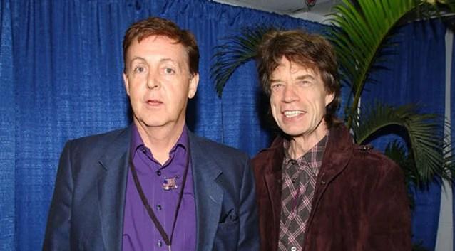 Paul McCartney e Rolling Stones