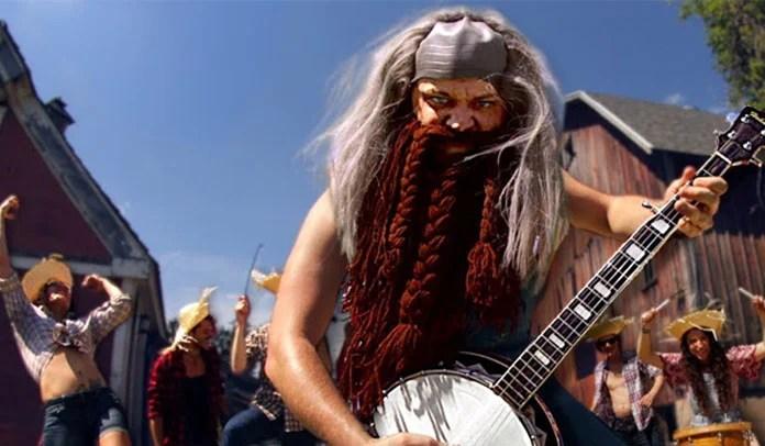 Gojira com banjo